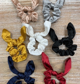 Beauty Satin Rabbit Ear Hair Scrunchie