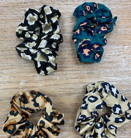 Beauty Animal Print Hair Scrunchie