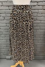 Skirt Celeste Midi Leopard Skirt