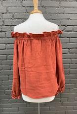 Shirt Rita Ruffle OTS Top
