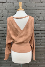 Top Anna VNeck Wrap Tie Top