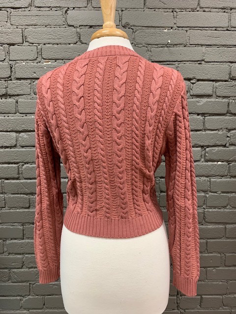 Sweater Mabel Cable Crop Sweater