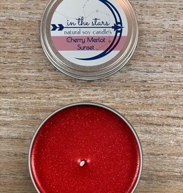 Candle In The Stars Candles, Cherry Merlot