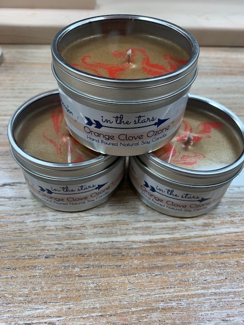 Candle In The Stars Candles, Orange Clove