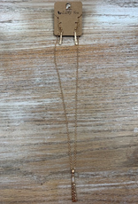 Jewelry Gold Necklace w/ Pendant