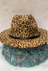 Hat Taylor Leopard Fedora