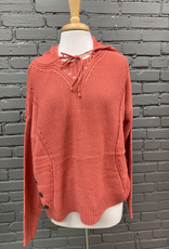 Sweater Alanna Sweater Hoodie W/ Button Detail