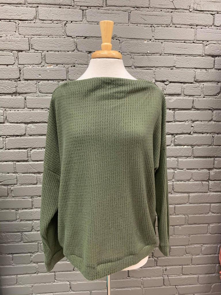 Sweater Ellen Sweater w/ Zipper Details