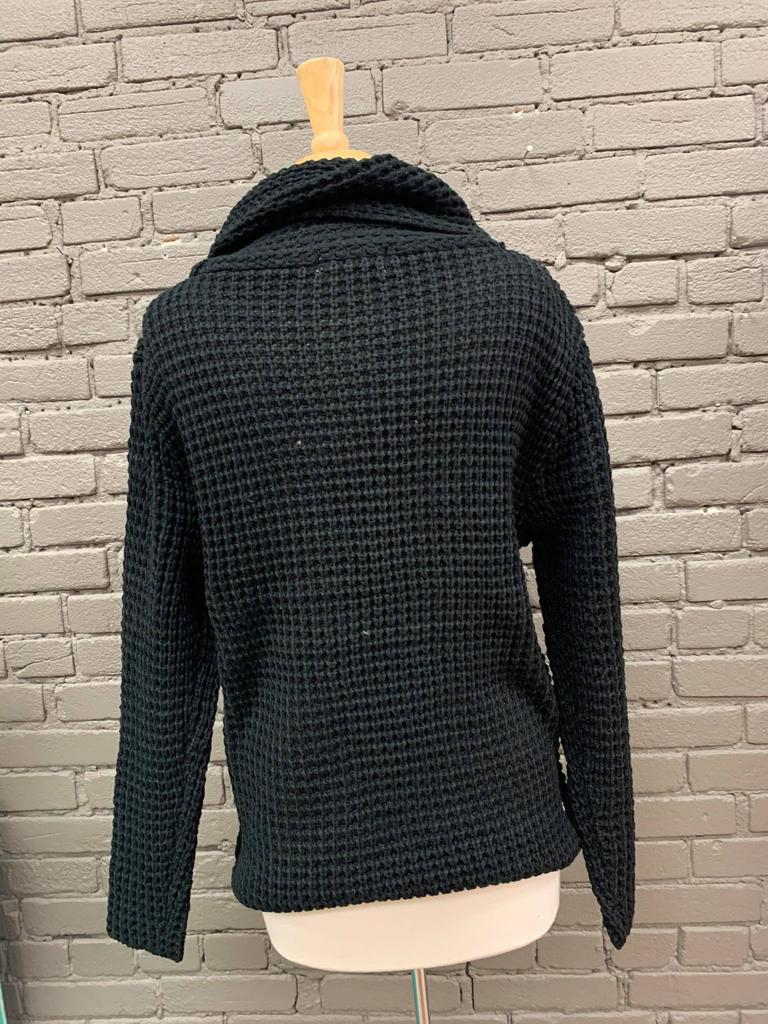 Sweater Beth Asymmetrical Wrap Sweater