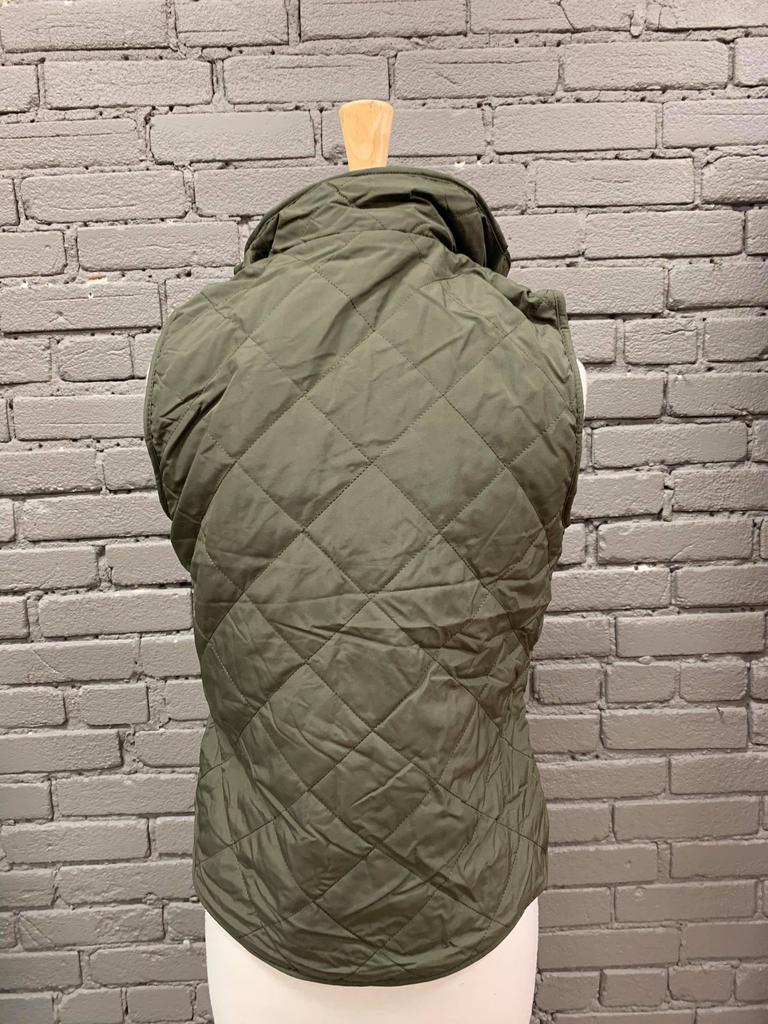 Vest Leslie Reversible Zip Up Vest