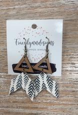 Jewelry TLD Broken Arrow Earrings