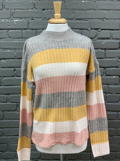 Sweater Cami Striped Sweater