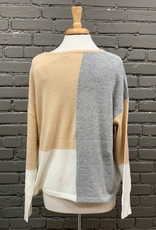 Sweater Jazz Colorblock Sweater