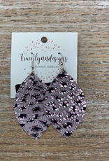 Jewelry TLD Colored Cheetah- Lavender