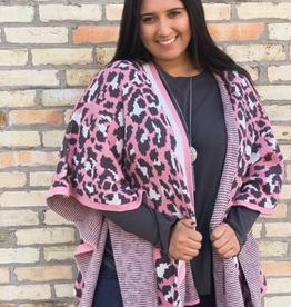 Kimono Megan Leopard Kimono