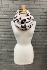 Scarf MacClare Faux Leopard Infinity Scarf