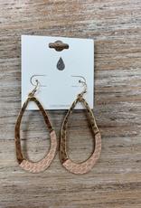 Jewelry Gold Giraffe Hoop Earrings