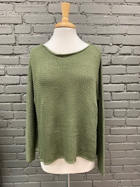 Sweater Bailey Olive Knit Sweater