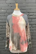 Long Sleeve Shay LS Multi Print Top