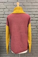 Sweater Chloe Colorblock Turtleneck Sweater