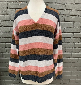 Sweater Wilma Chenille Stripe Sweater
