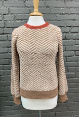Sweater Nala Chevron Soft Sweater