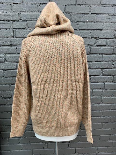 Sweater Toni Multi Color Hood Sweater