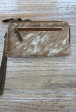 Wallet Sand On Beach Leather Hairon Wallet