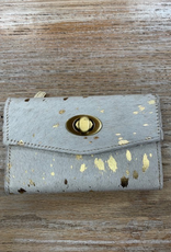 Wallet Gold Indulgence Hather Hairon Wallet