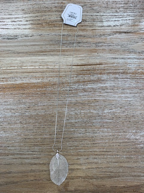 Jewelry Alloy Leaf Necklace