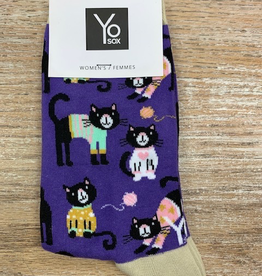 Socks Women's Crew Socks- SweaterCat