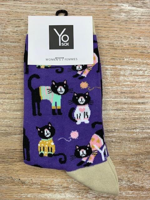 Socks Women's Crew Socks- SweaterCat