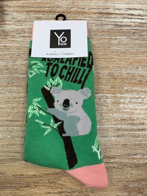 Socks Women's Crew Socks- KoalaFied