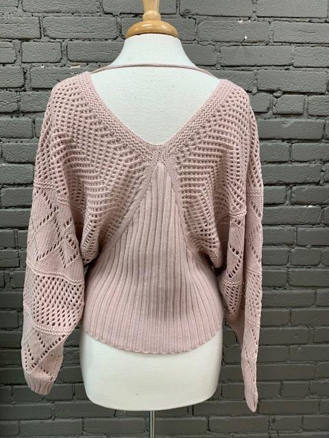 Sweater Becky Dolman Knit Sweater
