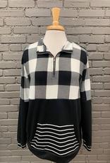 Long Sleeve Debi Pullover Front Zip