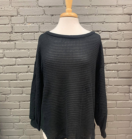 Top Brittany Waffle Knit Top