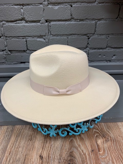 Hat Ruby Wide Brim Fedora