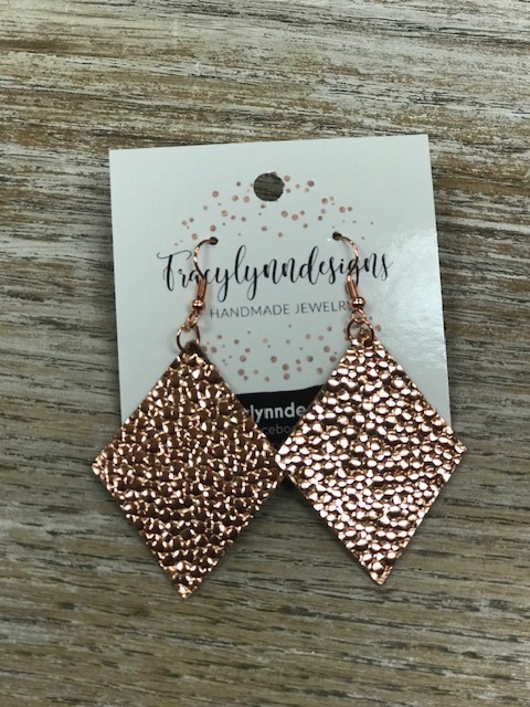 Jewelry TLD Rosegold Triangles