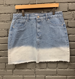 Skirt Posie Denim Ombre Skirt