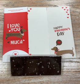 Card I Love You So Much Chocolate Card