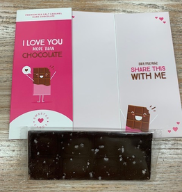 Card I Love You More Than Chocolate Card