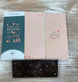 Card Grateful Chocolate Card