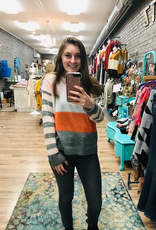 Sweater Angela Multi Stripe Sweater