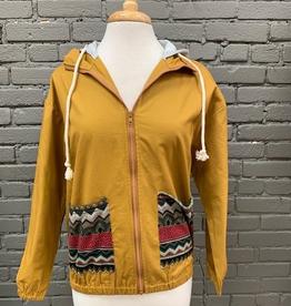 Jacket Skylar Aztec Pocket Hooded Jacket