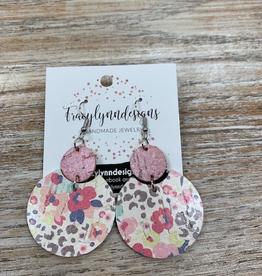 Jewelry TLD Pink Floral Leopard