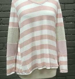 Long Sleeve Nora Color Block Stripe Long Sleeve