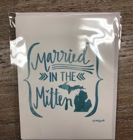 Decor Married in the Mitten Card