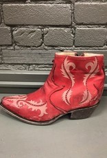 Boot Red Laser Ankle Boot