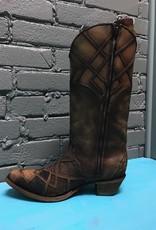Boot Honey Lizard Laser Overlay & Lace