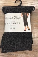 Leggings Black Knit Shimmer Leggings